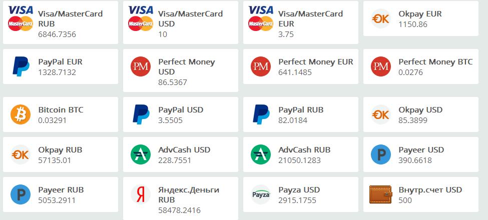 Лучший обмен PayPal RUB на Webmoney WME
