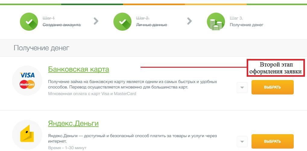 Микрокредит на карту казахстан