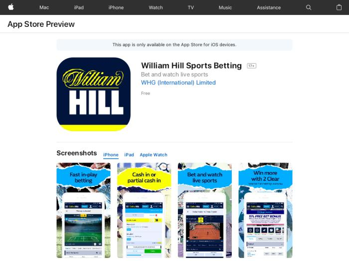william hill отзывы
