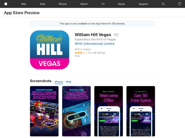 Отзывы БК William Hill