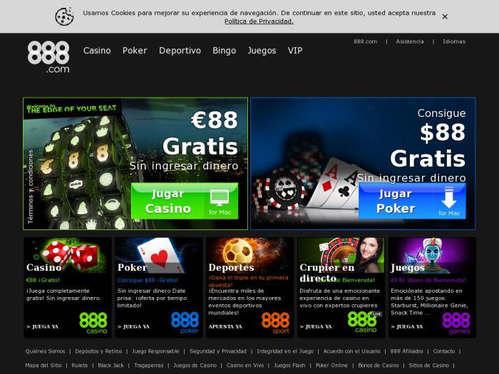 Opinioni su casino 888