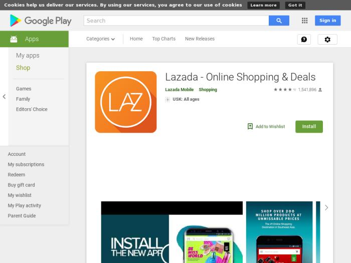 Lazada Android