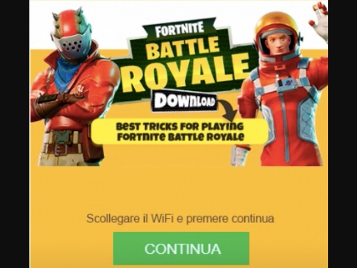 [MOB] Fortnite Battle Royale Download /IT - 2 Clicks