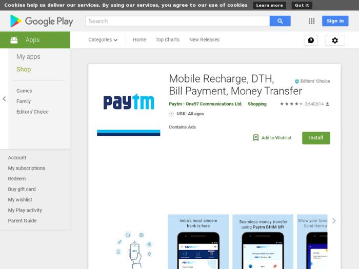 PayTM [Android] IN