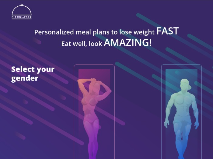 [WEB MOB] Fitculator: Personalized Meal Plan /US/UK