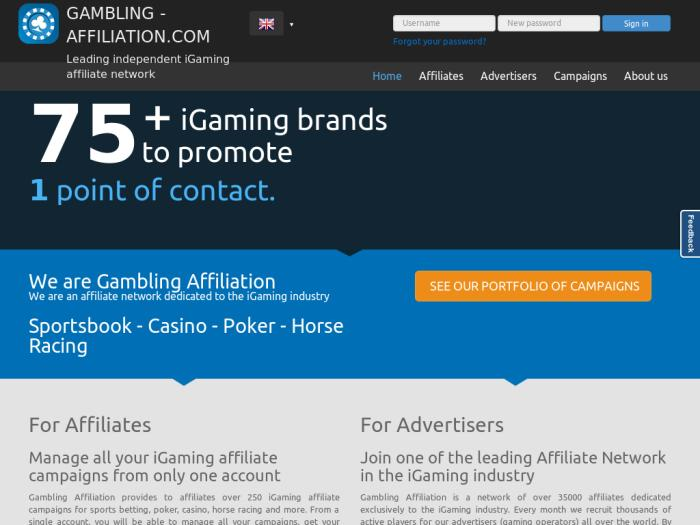 Gambling Affiliation