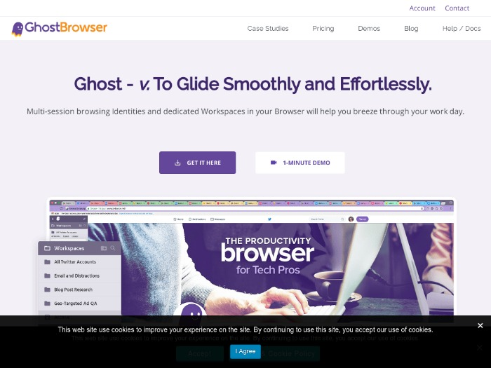Ghostbrowser