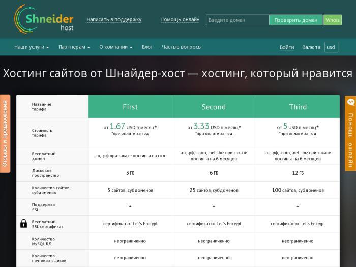 Хостинг shneider-host отзывы сделать поиск определенному сайту