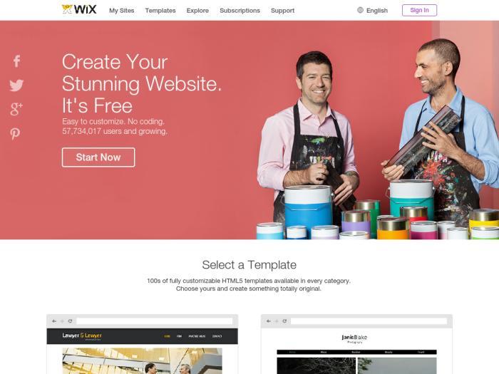 Wix создать сайт бесплатно сайт учителя