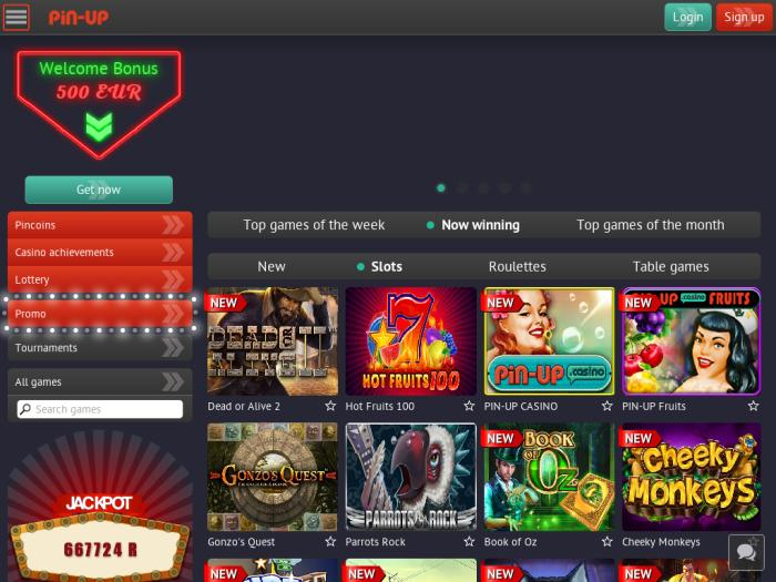 pin up casino отзывы
